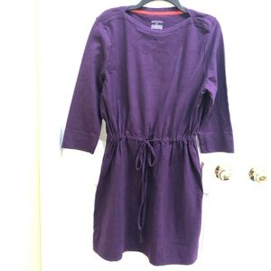 Merona sweatshirt dress XXL purple NWT